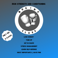 Boxing Class Sign Up