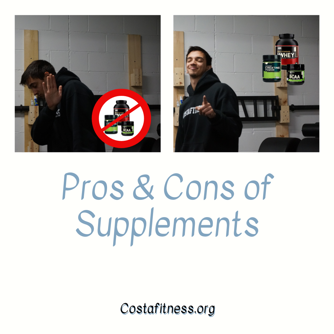 Pros And Cons Of Supplements
