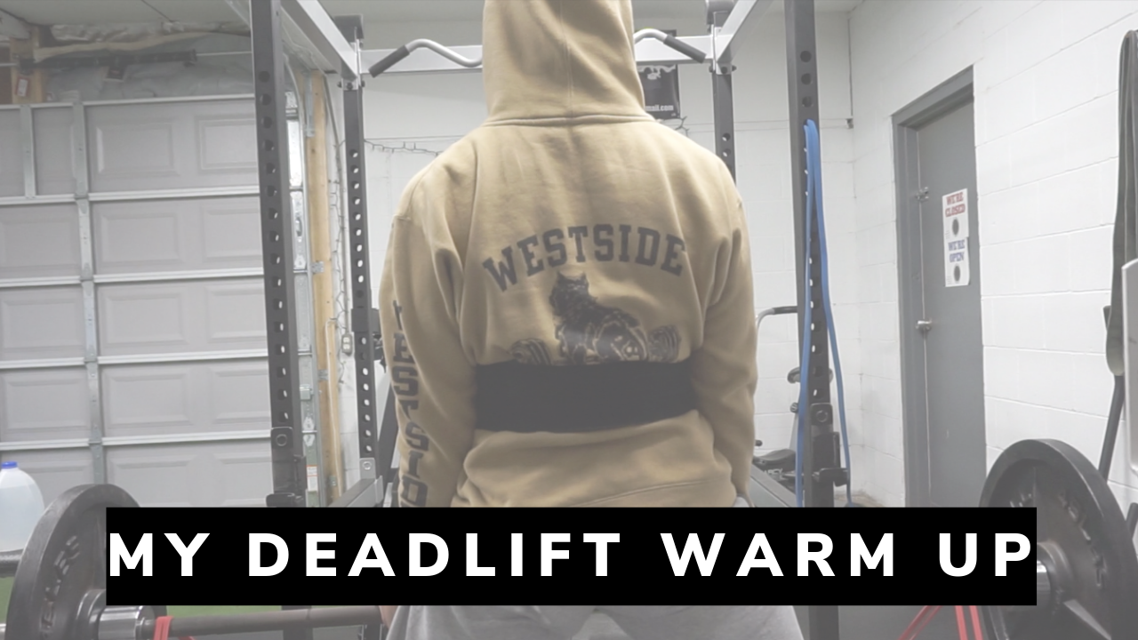 My Deadlift Warm up