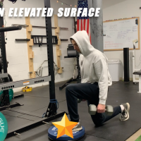 Elevated Lunges for Strength, Speed & Size